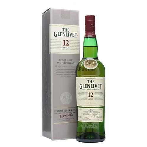 GLENLIVET 12 75CL