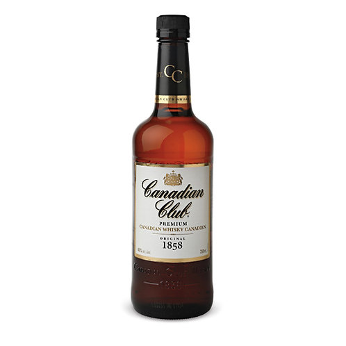 CANADIAN CLUB BLENDED CANADIAN WHISKEY 75CL