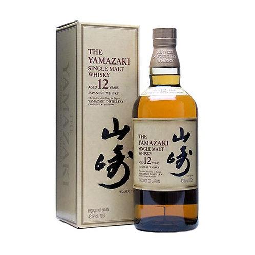 THE YAMAZAKI SINGLE MALT 12 YEAR 70CL