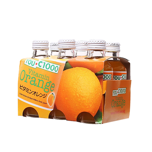 YOUC 1000 Orange X 6 bottles