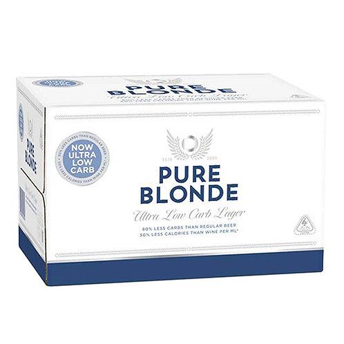 PURE BLONDE 24 X 355ML
