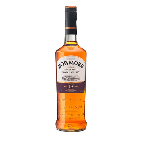 BOWMORE 18 YEARS SCOTCH WHISKY 70CL