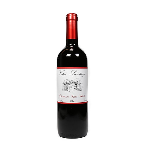 VINA SANTIAGO CHILEAN RED WINE 75CL
