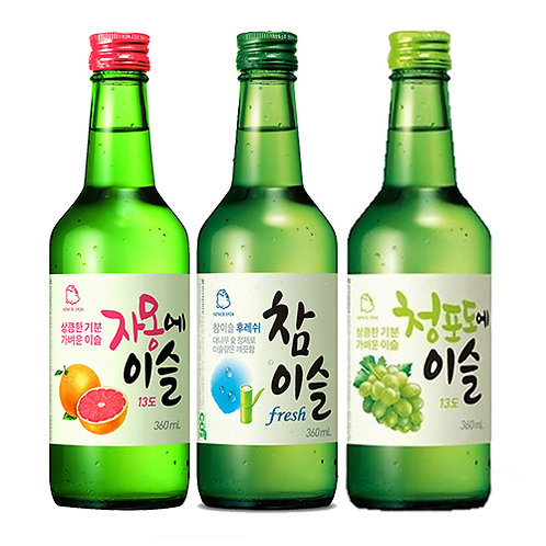 JINRO MIX AND MATCH 3 SOJU FLAVORS