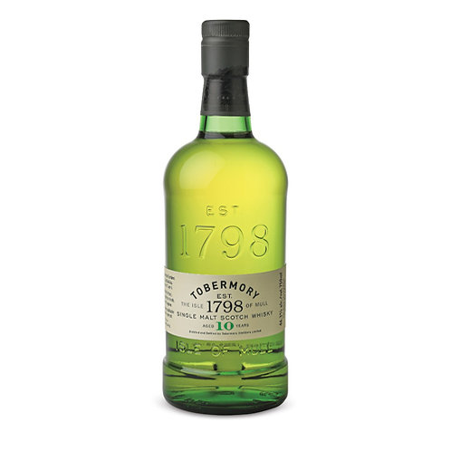 TOBERMORY 10 YEARS SCOTCH WHISKY