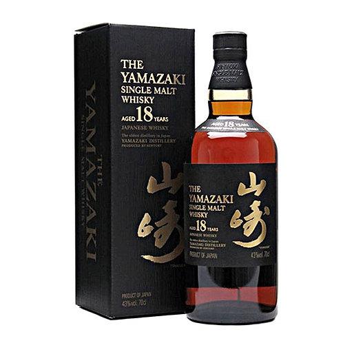 THE YAMAZAKI SINGLE MALT 18 YEAR 70CL