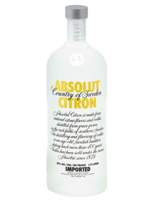 ABSOLUT CITRON 75CL