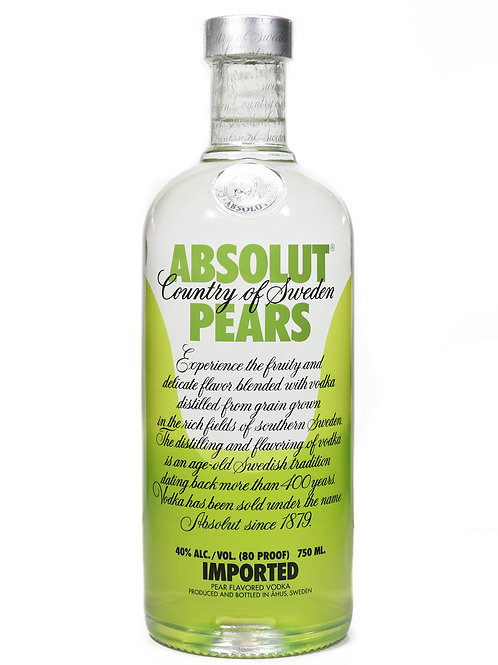 ABSOLUT PEARS 75CL