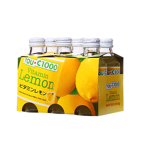 YOUC1000 lemon x6 bottles