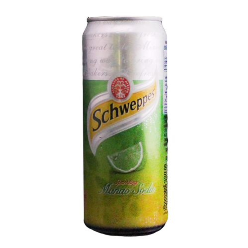 SCHWEPPES LIME SODA (330 ml)