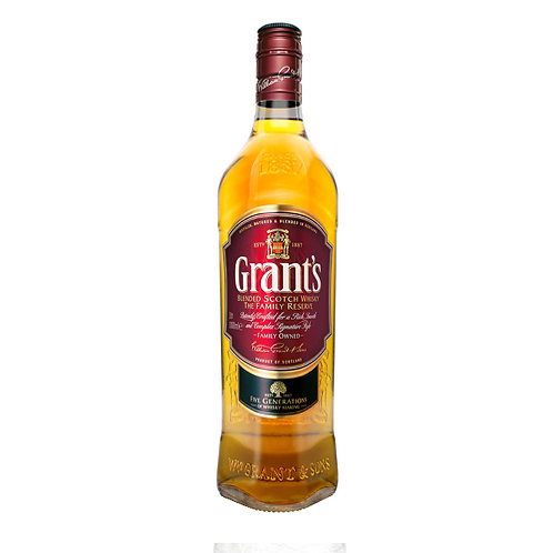 GRANT'S BLENDED SCOTCH WHISKY 70CL