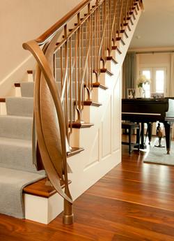 Bronze Stair Railing