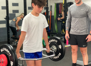 STRENGTH & CONDITIONING FOR YOUTH ATHLETES