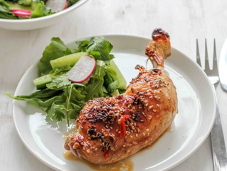 Lime & Ginger Chicken with Asian Salad