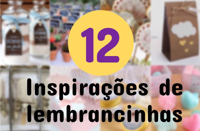 12 Inspirações para Lembrancinhas de Maternidade