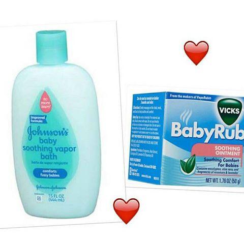 Resenha | Johnson's Vapor Bath e Vick Baby Rub