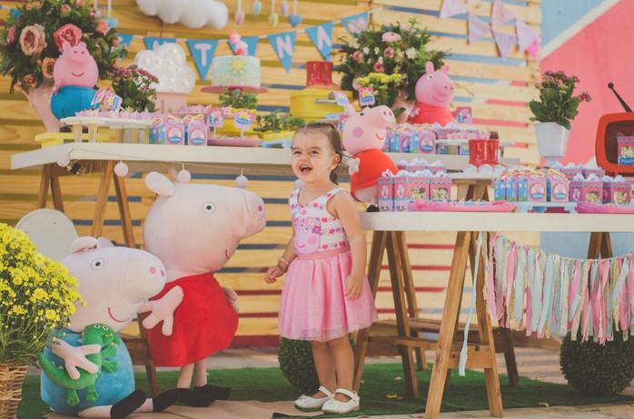 Valentina 2 anos - Festa Peppa Pig