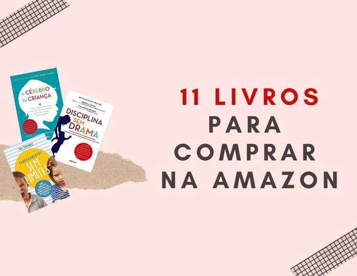 Minha top lista de livros na Amazon