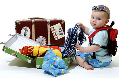 Dicas para viajar com bebê/criança