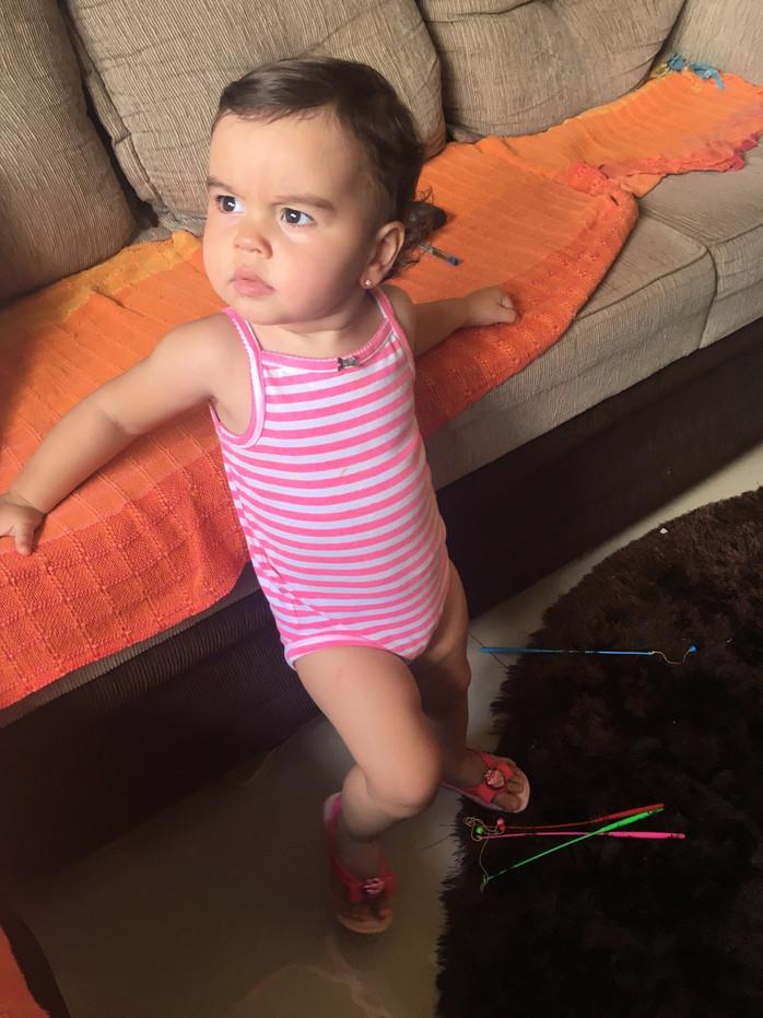Valentina, 1 ano e 6 meses