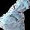 Thumbnail: Knot Bag - Cats and grey canvas