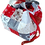 Thumbnail: Large Cube bag - Scandi Christmas (red)