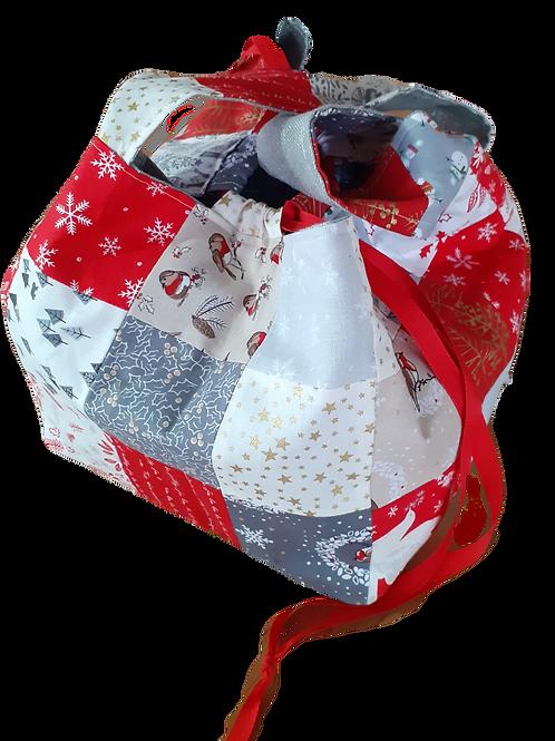Cube Bag - Scandi Christmas