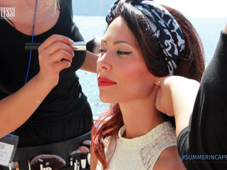 """Shooting at """"La Canzone del Mare"""" for Riflessi"""