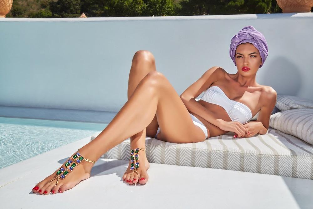 Alma Luxury Foot Jewels