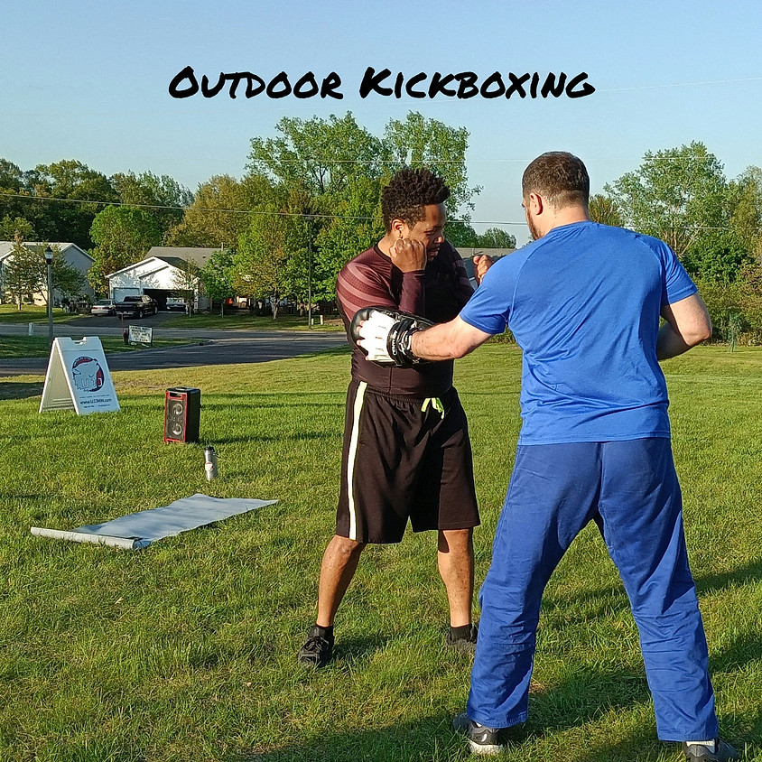 Monday Outdoor Kickboxing Class