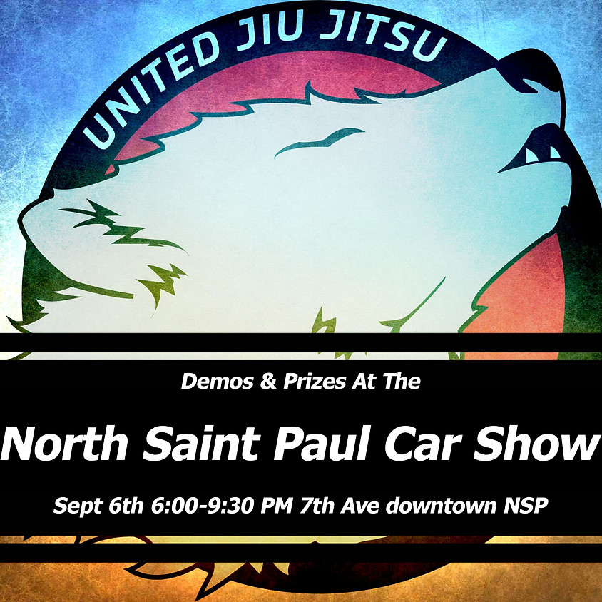 United Jiu Jitsu and High Five Fit at the North Saint Paul Car Show
