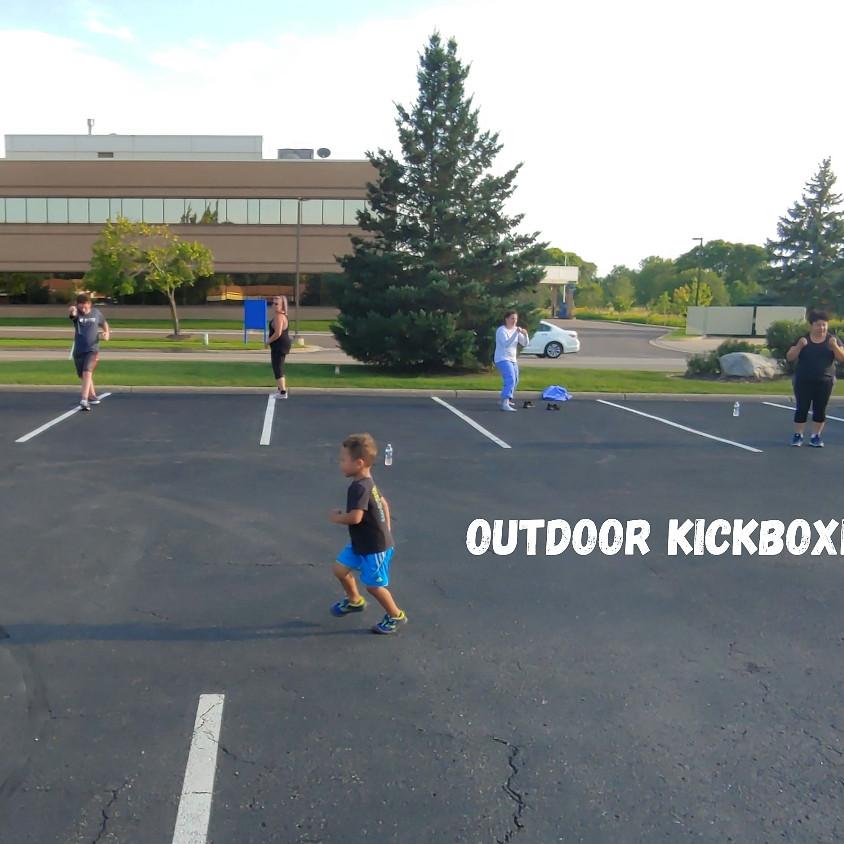 Outdoor Kickboxing Class