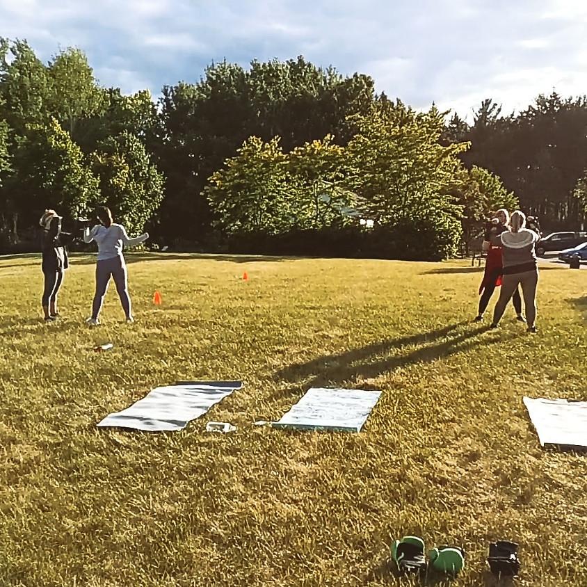 Friday Outdoor Kickboxing Class