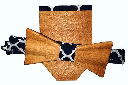 Tan Tie & Pocket Square