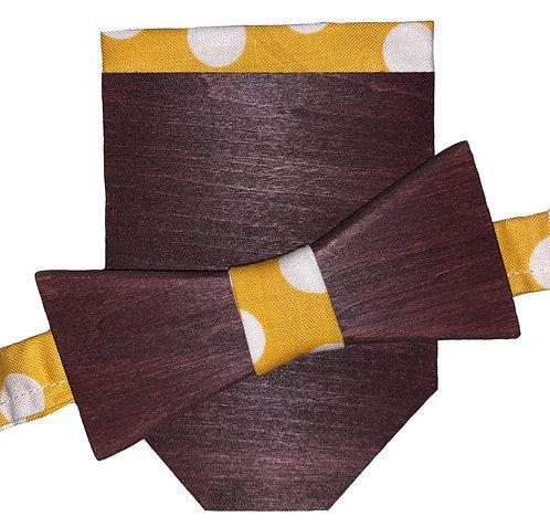 Maroon Tie & Pocket Square