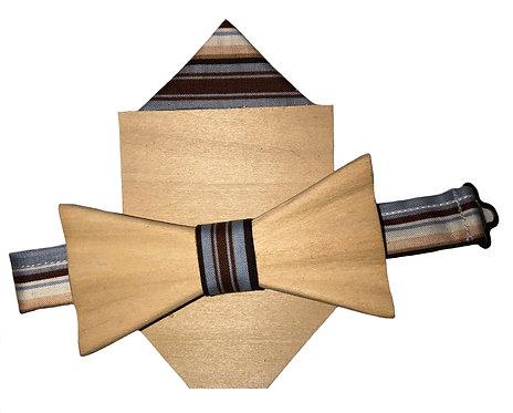 Natural Tie & Pocket Square