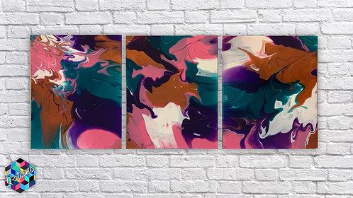 16x20 Pink Copper Tripple Set