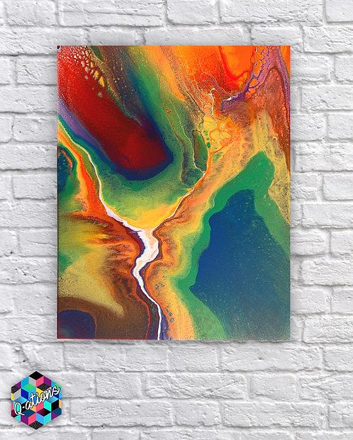 16x20 Rainbow Galaxy