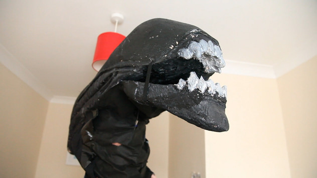 Pets's Alien head