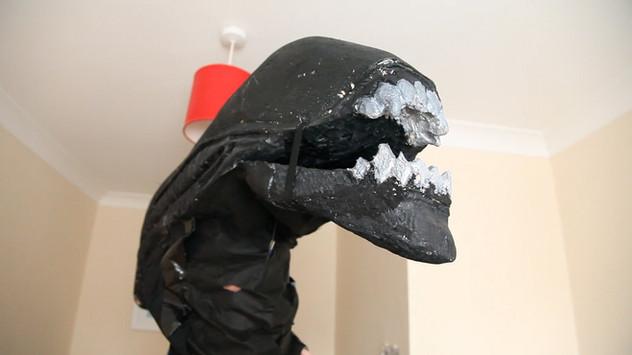 Xenomorph Head created by Pete.