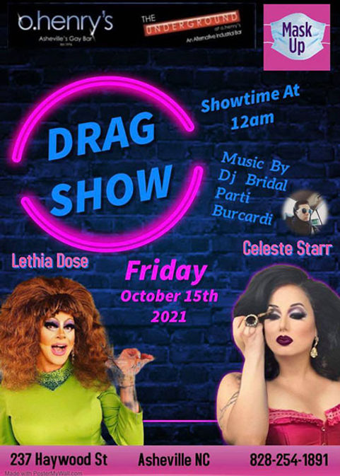 DragShow O.Henrys OCTO15