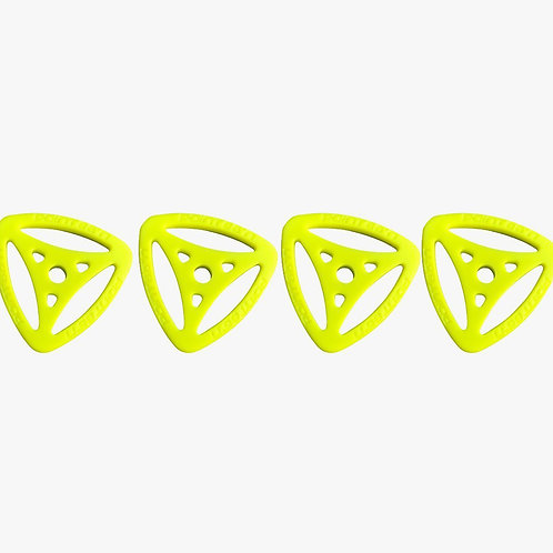 POINT 65 Boblbee GTX High Impact Triaxial - Lime (Set of 4)
