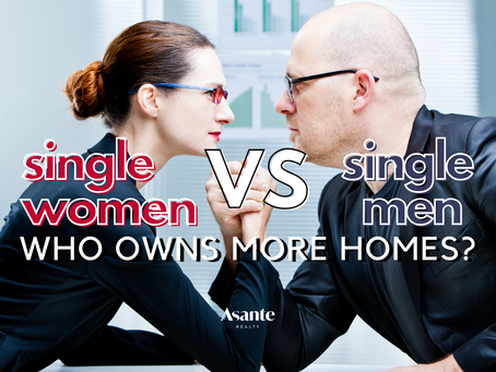 Single Men or Women? Who Owns More Homes?