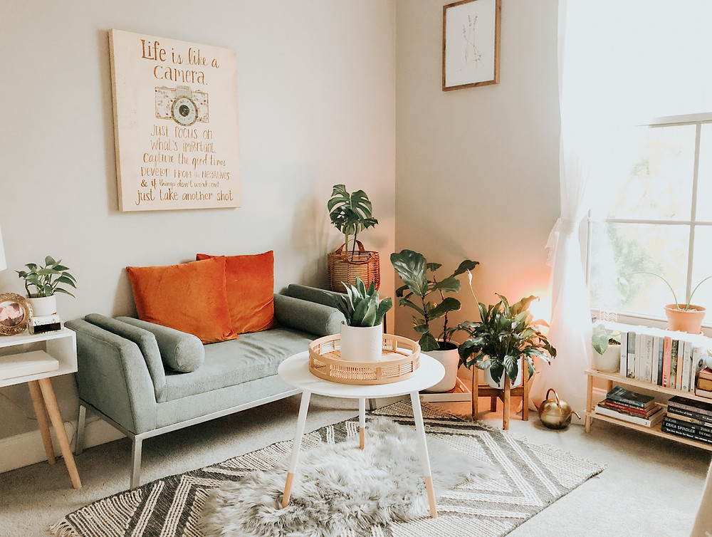 living room in san ramon property