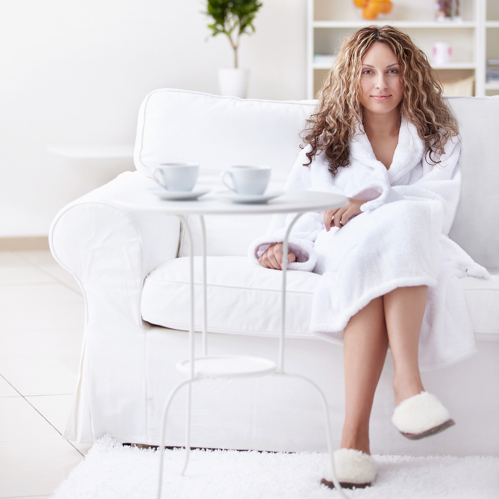 luxurious robes and home slippers for san ramon homes