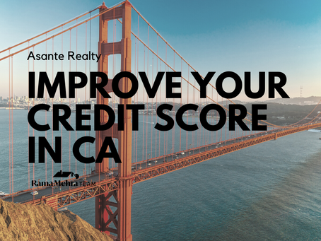 Ways to Improve Your Credit Score in California