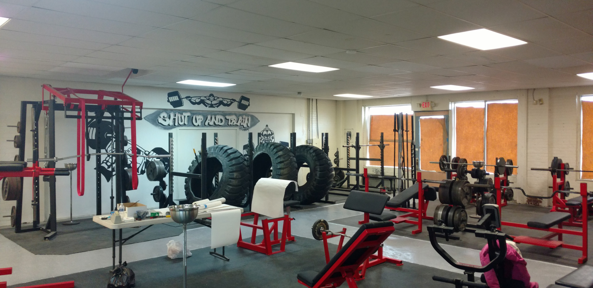 Half of the Gym