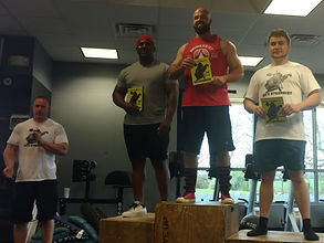 WV Strongest Man 3rd Place