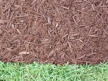 Double Shredded Brown Mulch