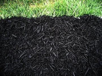 Double Shredded Black Mulch